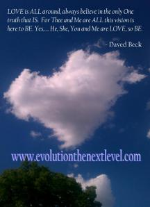 Heart Cloud with text