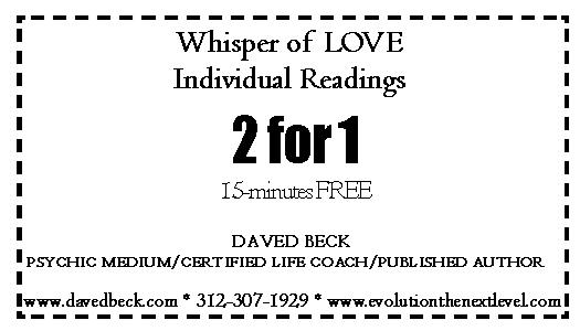 Whisper of LOVE 2 for 1 - 15-min FREE
